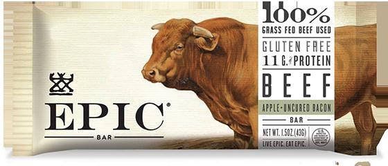 EPIC Bar Beef Apple Bacon