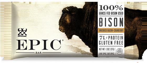 EPIC Bar BISON BACON CRANBERRY Bar