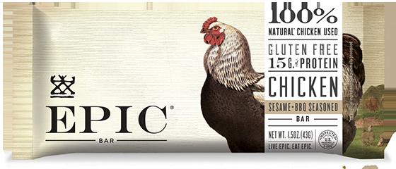 EPIC Bar Chicken Sesame BBQ