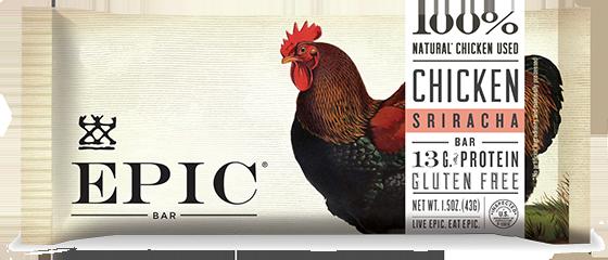 EPIC Bar Chicken Sriracha