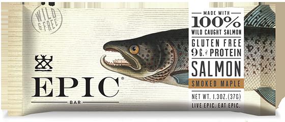 EPIC Bar Smoked Salmon Maple