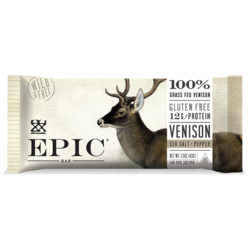 EPIC Bar Venison Sea Salt Pepper