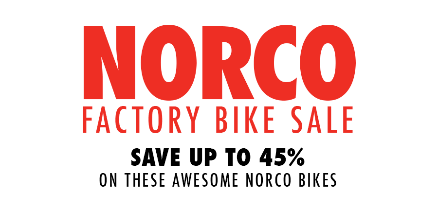 Norco Factory Bike Sale