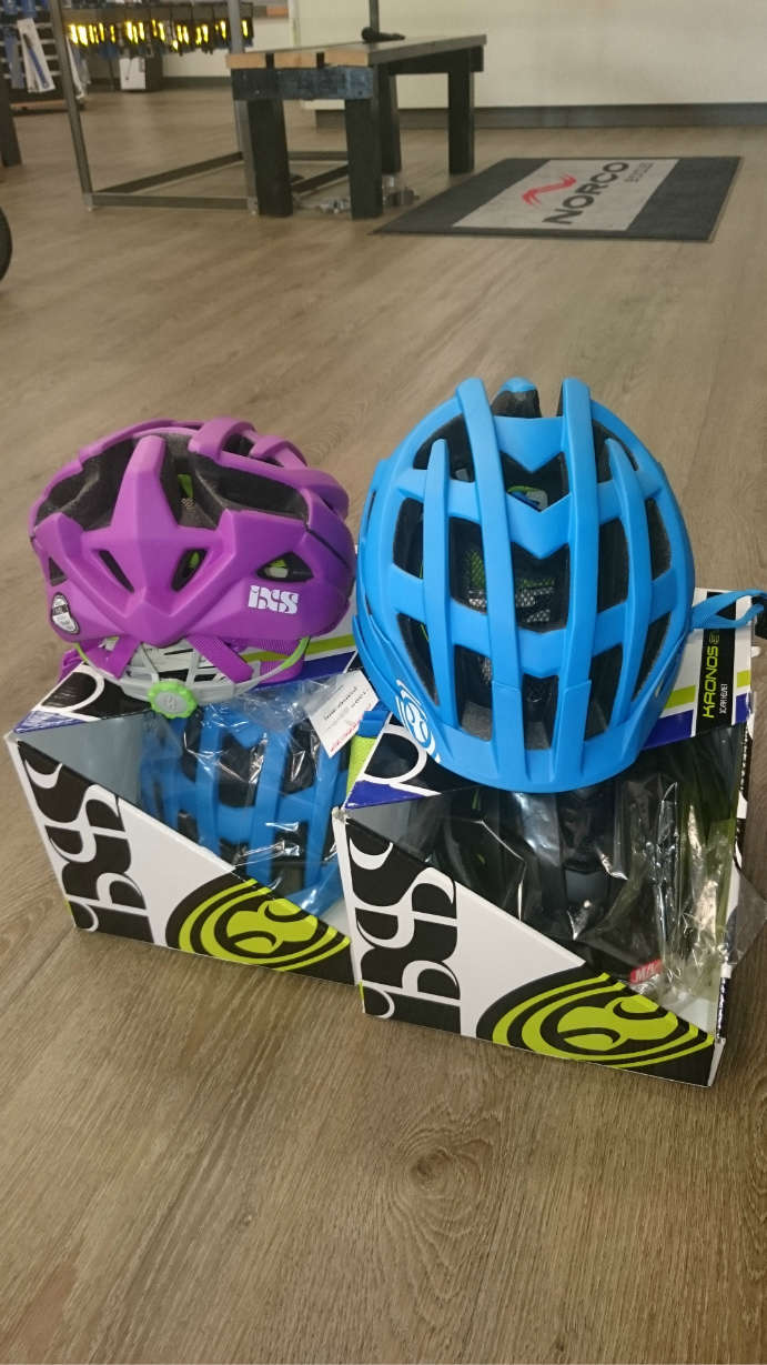 IXS helmet sale at Norco John Henry
