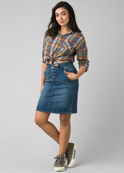 PrAna Aubrey Denim Skirt