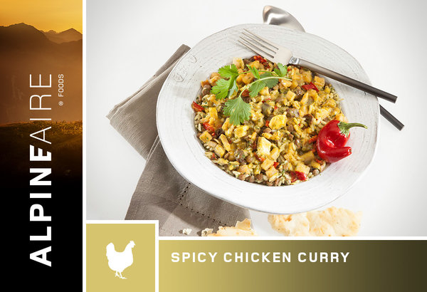 ALPINE AIRE Spicy Chicken Curry