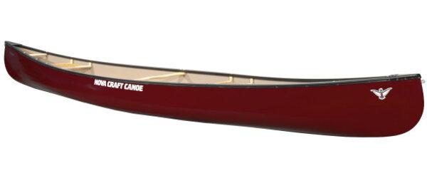 Nova Craft Canoe Prospector 17 Fiberglass w/ Deluxe Yoke