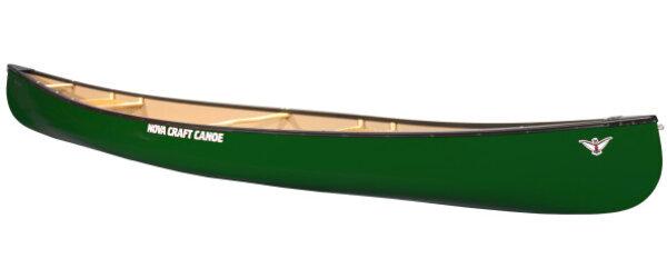 Nova Craft Canoe Prospector 17 Fiberglass w/ Center Seat