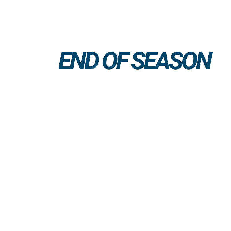 End of Season Winter Closeout