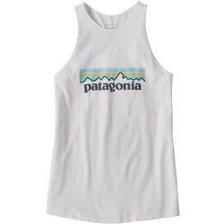 Patagonia Pastel P-6 Logo Organic High Neck Tank