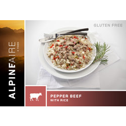 ALPINE AIRE Pepper Beef on Rice