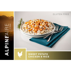ALPINE AIRE Sweet Potato Chicken & Rice