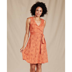 Toad & Co Cue Wrap Sleeveless Dress