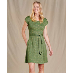 Toad & Co Cue Wrap Short Sleeve Dress