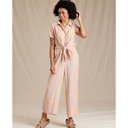 Toad & Co Taj Short Sleeve Jumpsuit