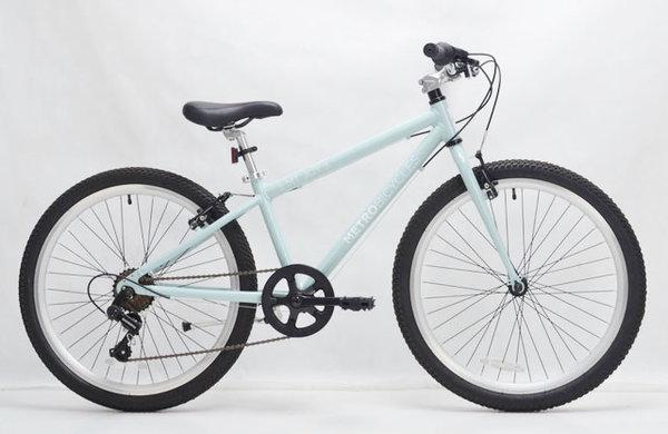 "Metro Bicycles Mt. Joy 24"" Light Blue Kid's Bike"
