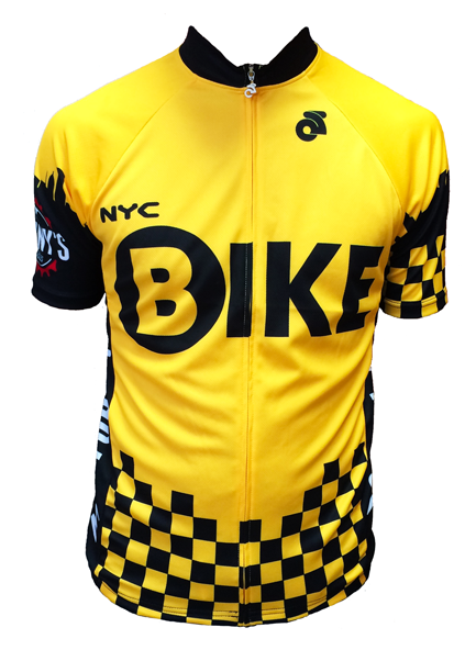 Danny's Cycles NYC Taxi Jersey