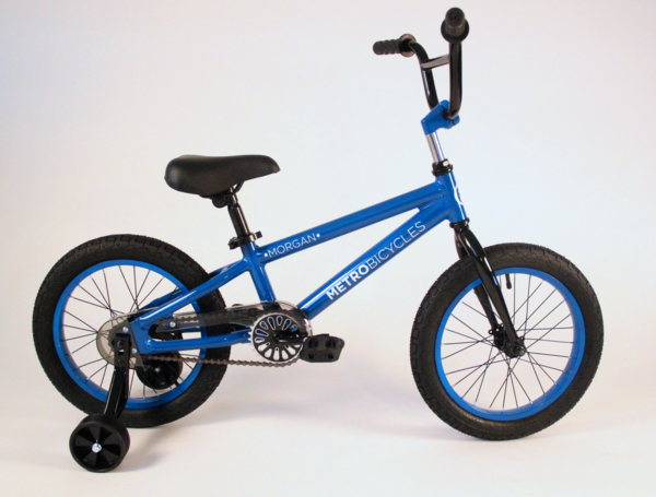 "Metro Bicycles Morgan 16"" Blue Kid's Bike"