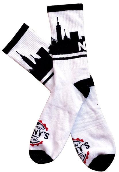 Danny's Cycles NYC Skyline Socks