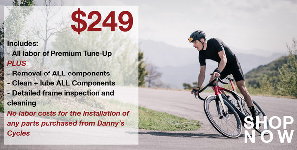 Danny's Cycles Pro Tune-up (pick-up/drop-ff)