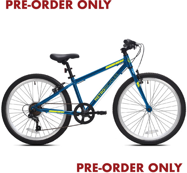 Metro Bicycles PRE-ORDER ONLY - MB24 available late JULY (7 Speed)
