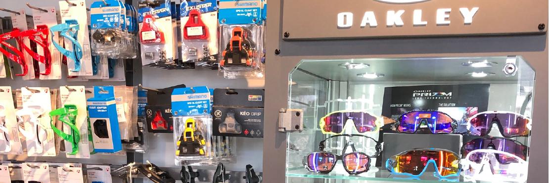Darien showroom - accessories