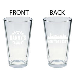 Danny's Cycles Pint Glass