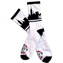 Danny's Cycles NYC Skyline Socks