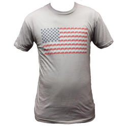 Danny's Cycles American Flag Shirt
