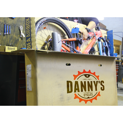 Danny's Cycles Professional Bike Packing - Shipping Box