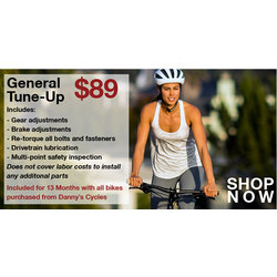 Danny's Cycles General Tune-up Package