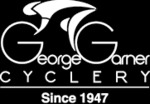 George Garner Cyclery logo linking to homepage
