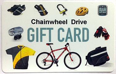 Chainwheel Drive Gift Card