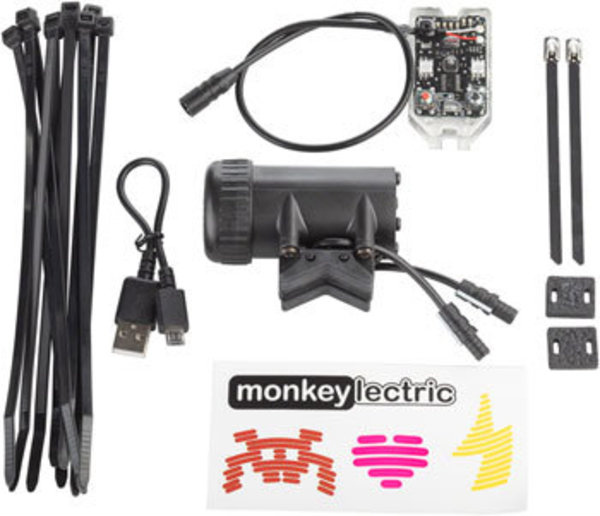 Monkeylectric A15 USB-Rechargeable Automatic Monkey Light