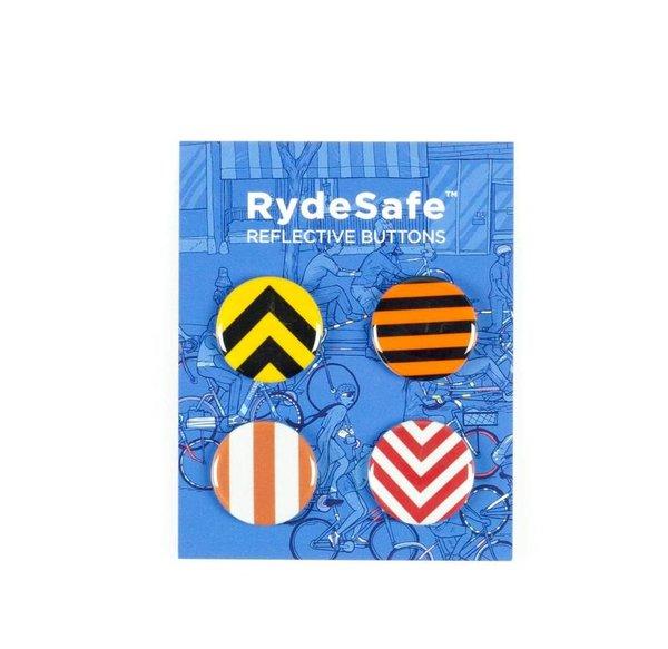 RydeSafe Reflective Button Kit