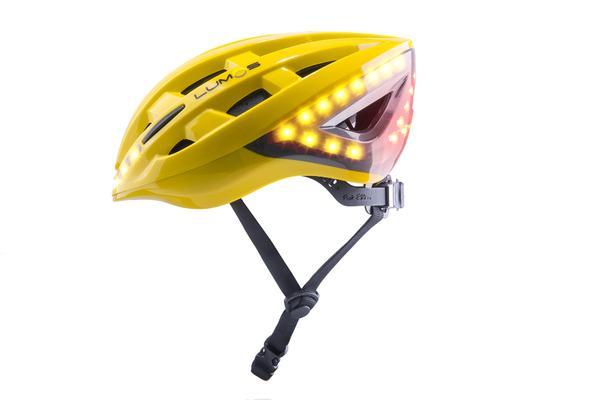 Lumos Lighted helmet with turn signals