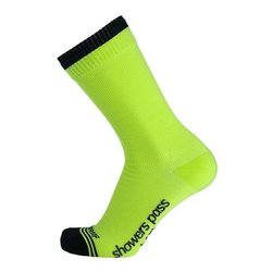 Showers Pass Showers Pass Crosspoint Waterproof Hi Viz Crew Socks