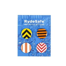 RydeSafe Reflective Button Kit
