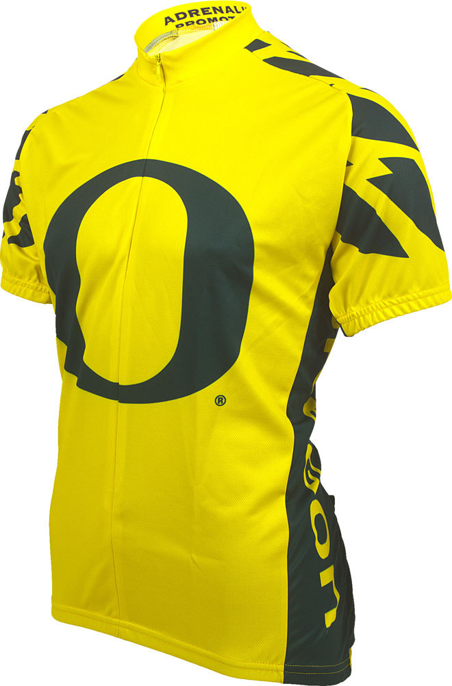 buy popular b36e0 763ad University Of Oregon U of O Ducks Cycling Jersey