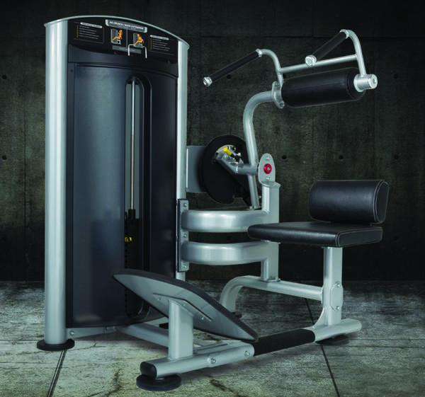 True Fitness FORCE Ab/Back Machine