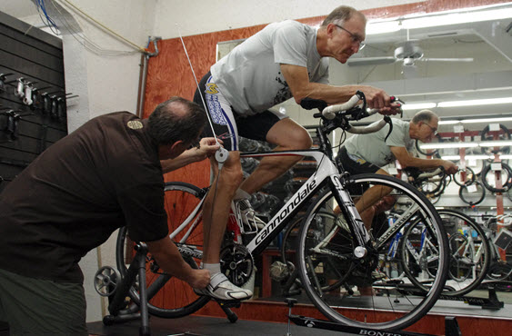 Professional Bike Fitting Service at Bickel's Cycling & Fitness