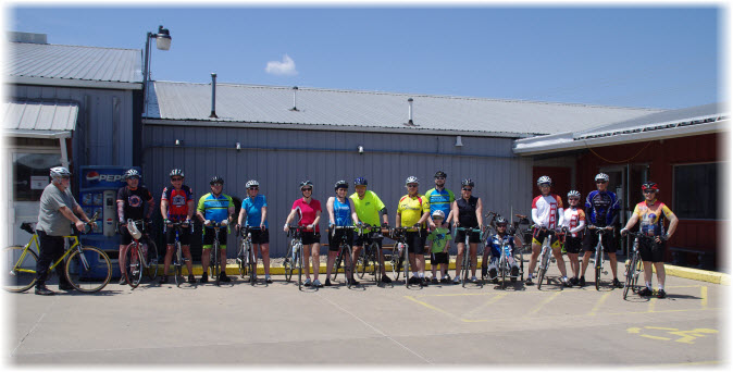 Annual Lake Geode Bike Fleche Bicycle Ride
