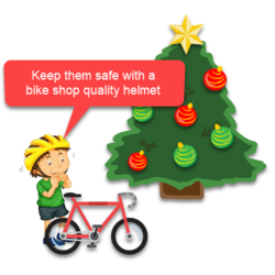 Bickel's Toys For Tots Helmet