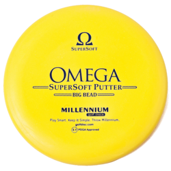 Millennium Disc Golf Omega Big Bead Putt and Approach