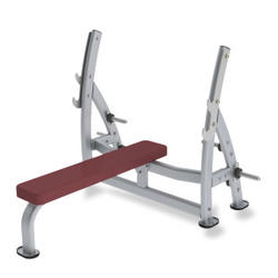 Paramount Fitness Line Supine Press Bench with Plate Holders