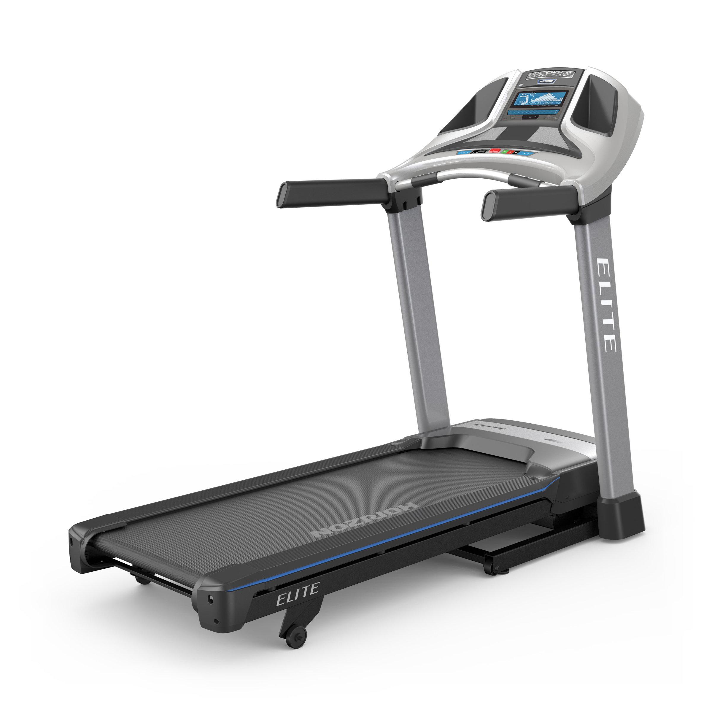 Elite T5 Folding Treadmill With ViaFit