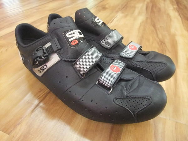 Sidi Genius 3 Mega - Size 52 - use with SPEEDPLAY PEDALS ONLY!
