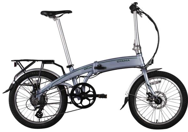 Oyama CX-E8D Folding E-Bike