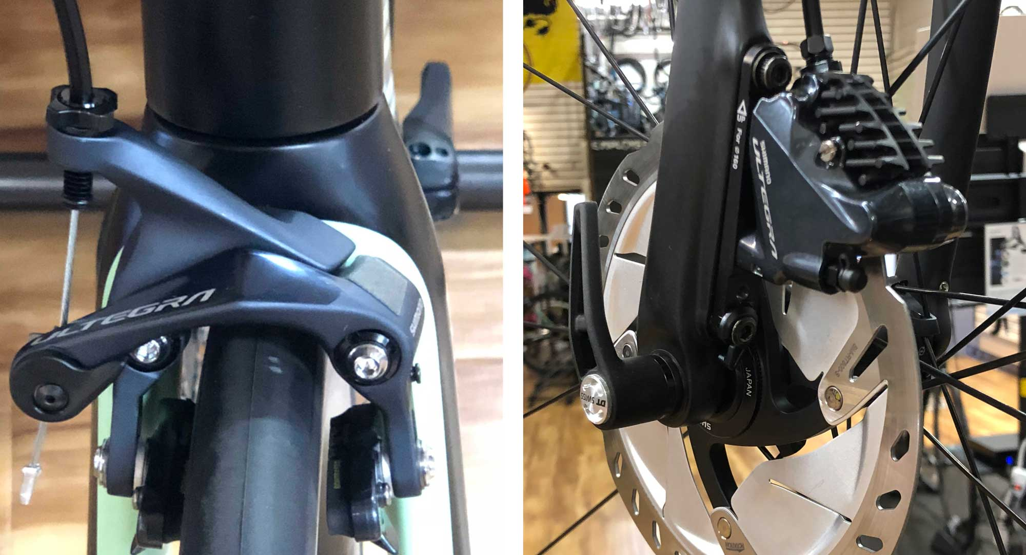 47582c7d242 Disc brake road bikes- Who wouldn't want better brakes? Don't I want them  on my next bike?