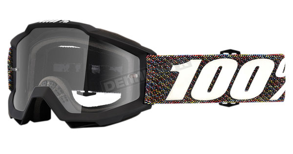 100% Accuri Jr Youth Goggle Color: Krick Clear